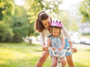 mamma bici figlia